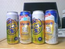 のどごし〈生〉 vs 新「ジョッキ生」