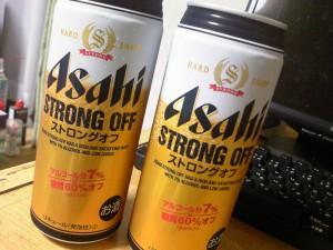 アサヒ ストロングオフ‐アサヒビール