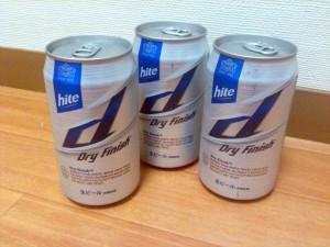 hite d(ハイト ディー)Dry Finish‐眞露ジャパン